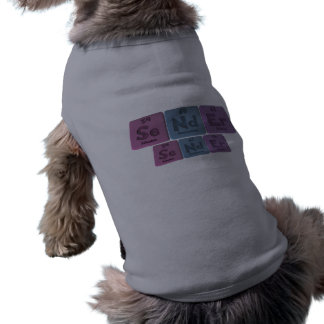 Sender-Se-Nd-Er-Selenium-Neodymium-Erbium png Dog T-shirt