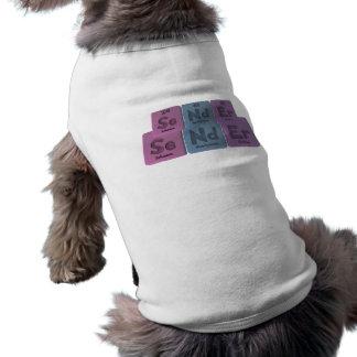 Sender-Se-Nd-Er-Selenium-Neodymium-Erbium png Pet Shirt
