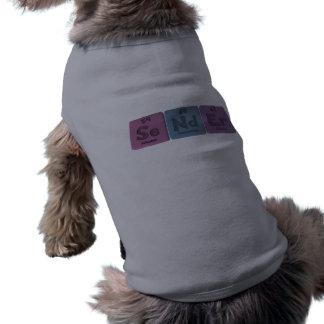 Sender-Se-Nd-Er-Selenium-Neodymium-Erbium png Pet T Shirt