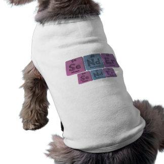 Sender-Se-Nd-Er-Selenium-Neodymium-Erbium png Dog Tee Shirt