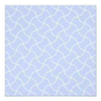 Sendero azul de Alicia mini en jardín inglés del Invitación 13,3 Cm X 13,3cm