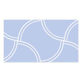 Sendero azul de Alicia mini en jardín inglés del Tarjetas De Visita