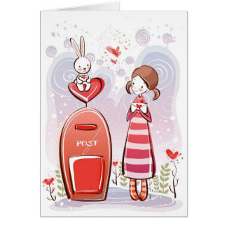 sending all my love card
