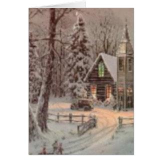 Sending Christmas Love Greeting Card