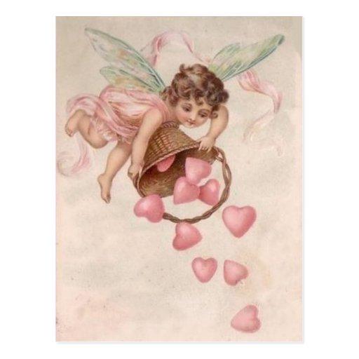 Sending Hearts Your Way - Postcard