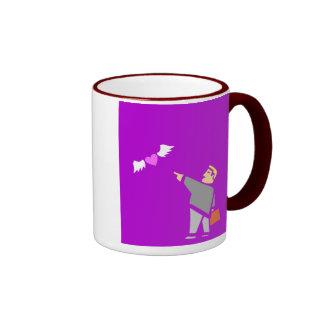 Sending Love Away Coffee Mugs
