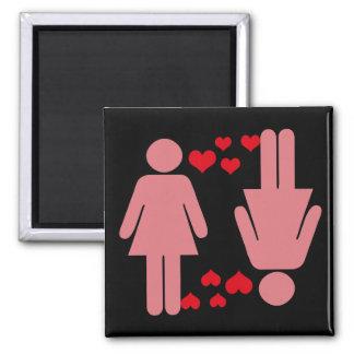 Sending Love Magnet Version 1