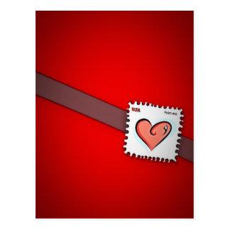 Sending Love through Snail Mail Postcard