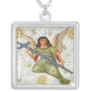 Sending Message Angel Necklace