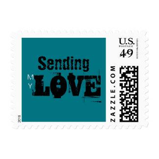 Sending my Love Small stamp