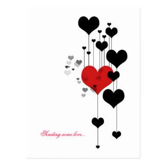 Sending some love... postcards