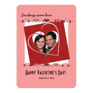 Sending some love Valentine's Day Photo Card