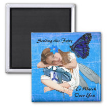 Sending this ME/CFS Fairy to watch over you! Magnet