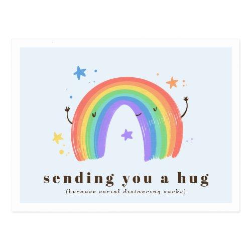 Sending You a Hug  Rainbow Magic Postcard