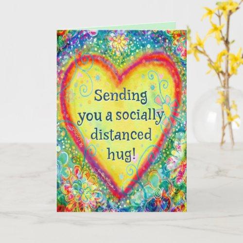 âœSending You a Long Distance Hugâ Inspirivity Card