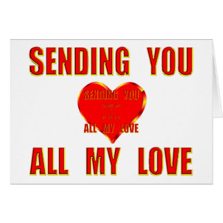 Sending You All My Love 3D Card