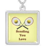 Sending You Love Tennis Necklace
