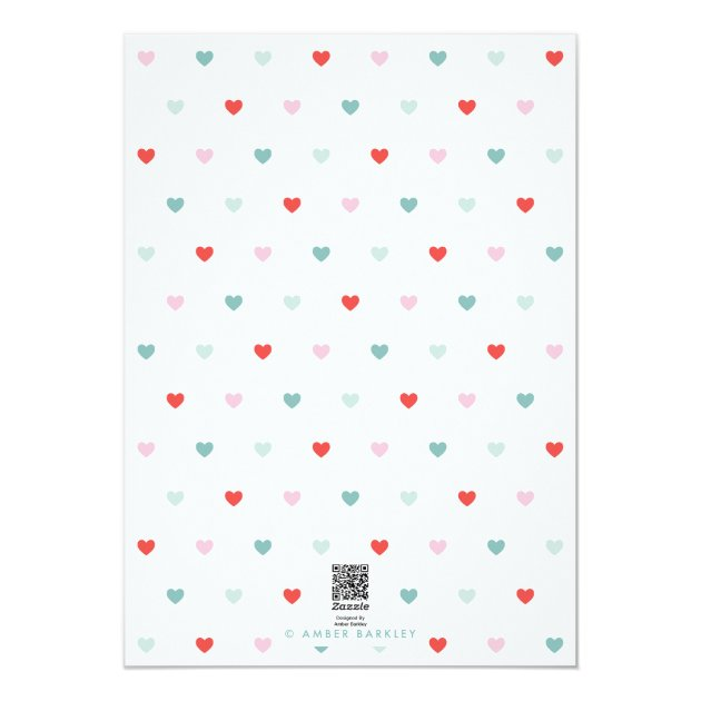 Sending you Love Valentine's Day Card (back side)