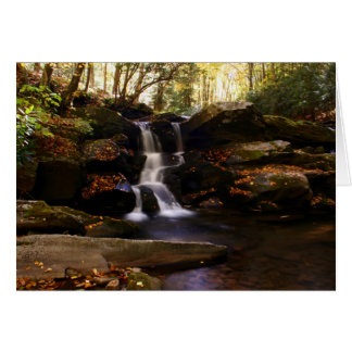 Seneca Creek Falls Card