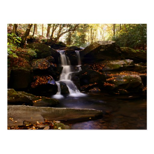 Seneca Creek Falls Postcard
