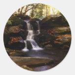 Seneca Creek Falls Round Sticker