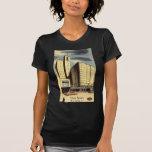Seneca del hotel, vintage de Rochester NY Camisetas