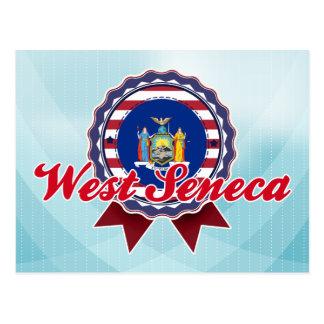 Seneca del oeste, NY Tarjeta Postal
