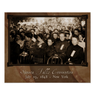 Seneca Falls Convention Poster