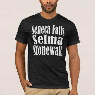 Seneca Falls Selma Stonewall T-shirt Dark