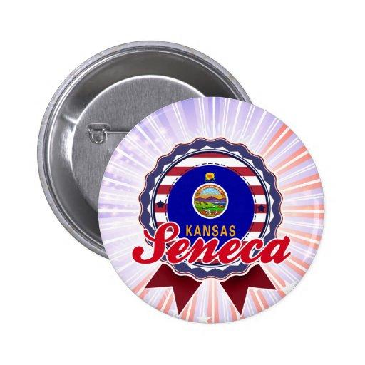 Seneca, KS Pin Redondo 5 Cm