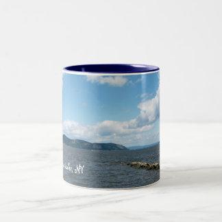 Seneca Lake  2 Two-Tone Coffee Mug