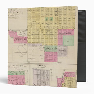 "Seneca, Oneida, Goffs, y Baileyville, Kansas Carpeta 1 1/2"""