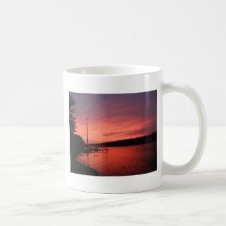 Seneca River Sunset Coffee Mug