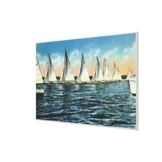 Seneca Yacht Club Canvas Print