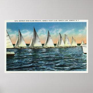 Seneca Yacht Club Poster