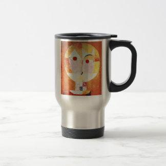 """Senecio"" and Paul Klee Travel Mug"