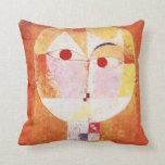 Senecio by Paul Klee Pillows