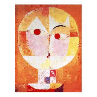 Senecio de Paul Klee Tarjetas Postales