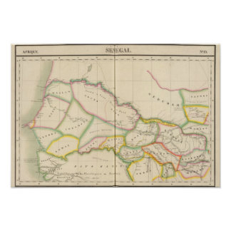 Senegal África Póster