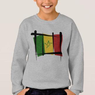 Senegal Brush Flag Sweatshirt