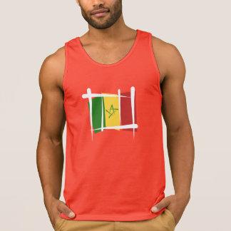 Senegal Brush Flag Tank Top