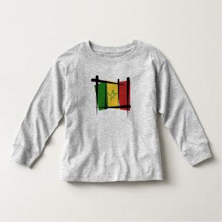 Senegal Brush Flag Toddler T-shirt