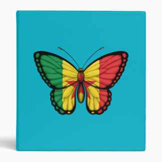 Senegal Butterfly Flag Binders
