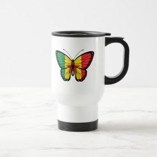 Senegal Butterfly Flag Mug