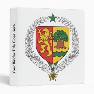 Senegal Coat of Arms detail Binder