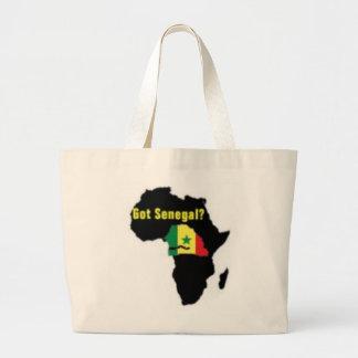 Senegal Coat of arms T-shirt And Etc Jumbo Tote Bag