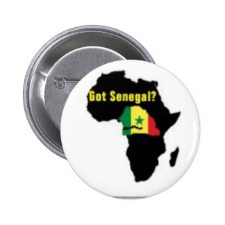 Senegal Coat of arms T-shirt And Etc 2 Inch Round Button