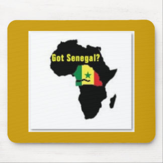 Senegal Coat of arms T-shirt And Etc Mouse Pad