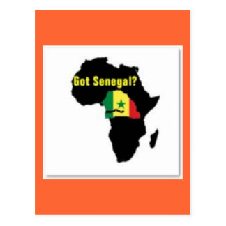 Senegal Coat of arms T-shirt And Etc Post Cards