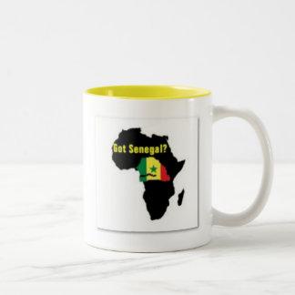 Senegal Coat of arms T-shirt And Etc Two-Tone Coffee Mug